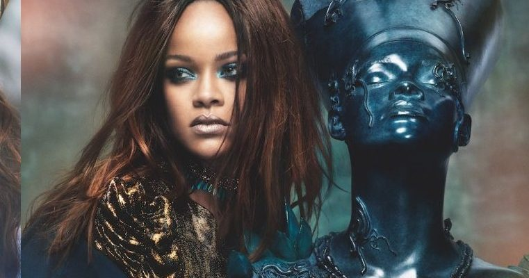 PHOTOSHOOT: Rihanna for Vogue Arabia