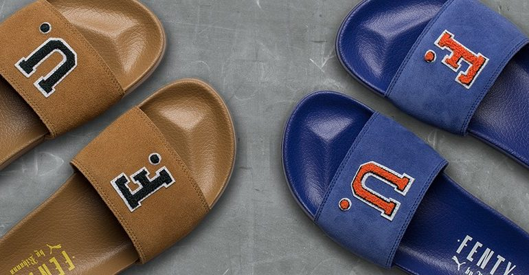 Fenty Puma by Rihanna F.U. suede slides coming October 5 rihanna-fenty.com
