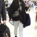 Rihanna spotted at JFK Airport on November 27, 2017