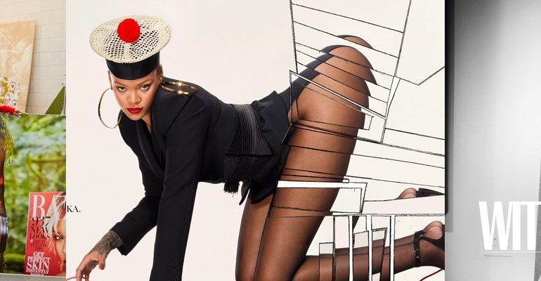 Rihanna Vogue Paris