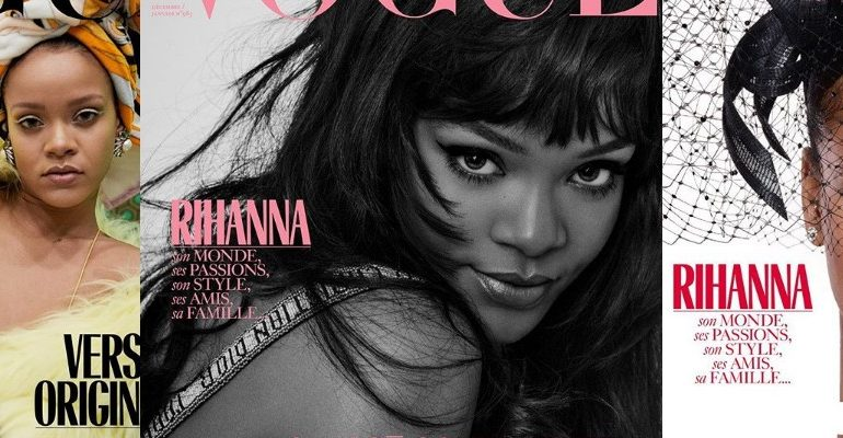 Rihanna covers Vogue Paris rihanna-fenty.com