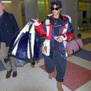 Rihanna at JFK Airport in New York January 21, 2018