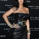 Rihanna attends Fenty Beauty launch in Milan on April 5, 2018 rihanna-fenty.com