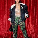 Rihanna at Gucci Wooster store opening in New York on May 5, 2018