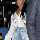 Rihanna enjoys a night out in London May 22, 2018 Mayfair