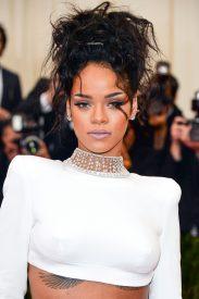Rihanna at Met Gala 2014 Mel Ottenberg
