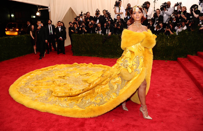 Rihanna Met Gala 2015 Mel Ottenberg