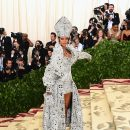 Rihanna attends 2018 Met Gala in New York on May 7, 2018