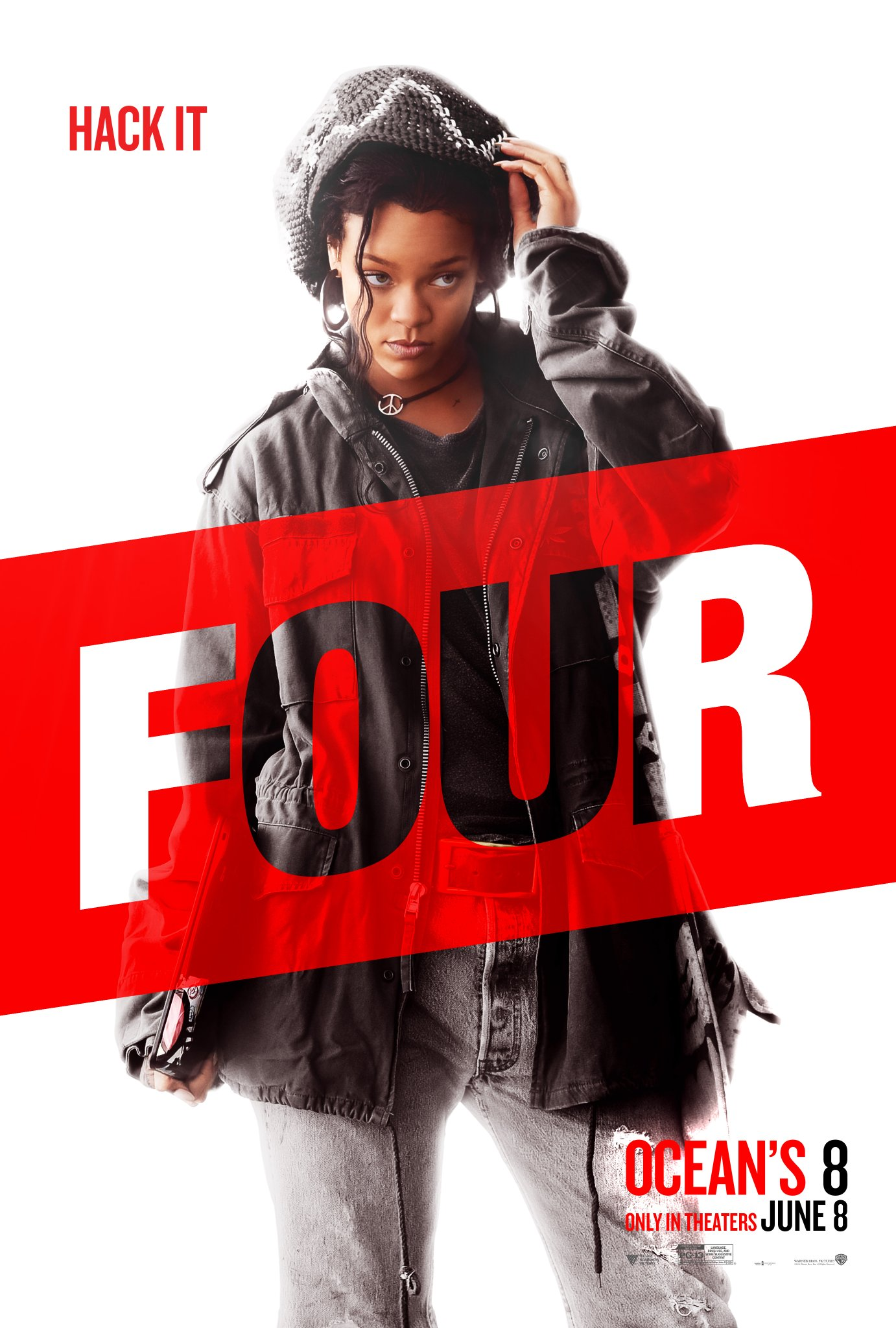 Rihanna as Nine Ball: Ocean's Eight poster