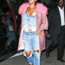 Rihanna out in New York City on May 5, 2018 Fashion