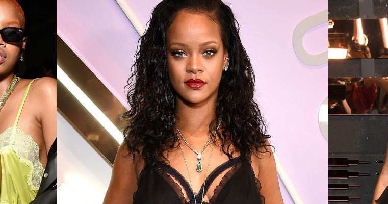 Rihanna attends Savage x Fenty launch in New York