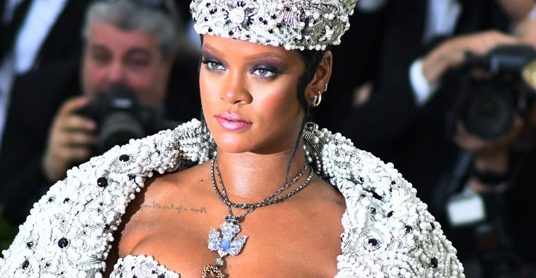 Rihanna wins the 2018 Met Gala on May 7, 2018