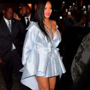 Rihanna arrives at Clara Lionel Foundation benefit on June 6, 2018