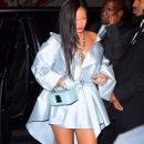 Rihanna arrives at Clara Lionel Foundation benefit on June 6, 2018 candids