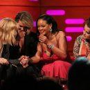 Rihanna and Ocean's 8 take over The Graham Norton Show on June 14, 2018 Sarah Paulson