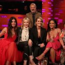 Rihanna and Ocean's 8 take over The Graham Norton Show on June 14, 2018 Sandra Bullock