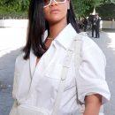 Rihanna attends Louis Vuitton fashion show in Paris on June 21, 2018 France