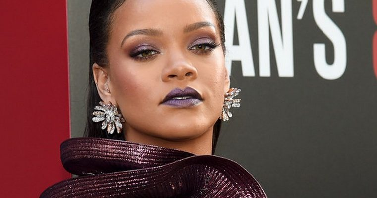 Rihanna attends Ocean's 8 world premiere