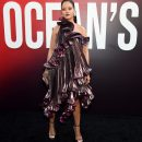 Rihanna attends Ocean's 8 world premiere on June 5, 2018 New York Givenchy