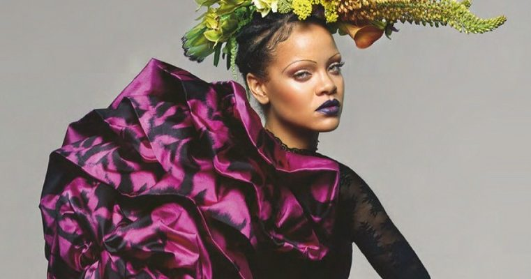 Rihanna for September Issue of British Vogue – interview