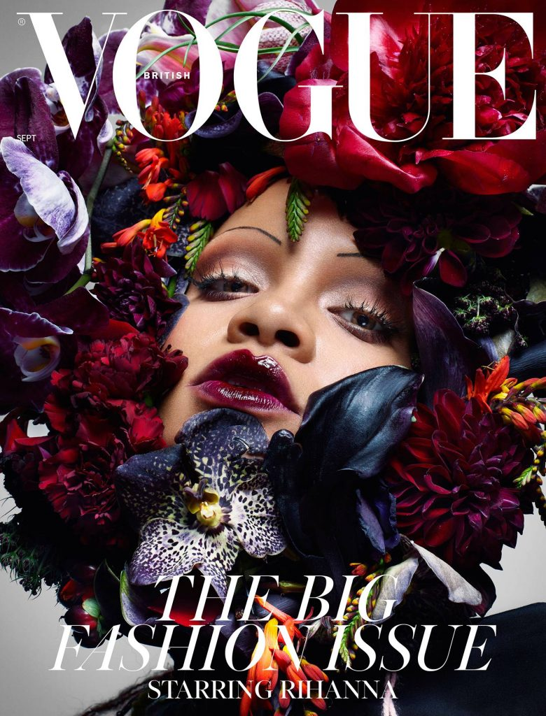 Rihanna for September Issue of British Vogue Subscriber's cover
