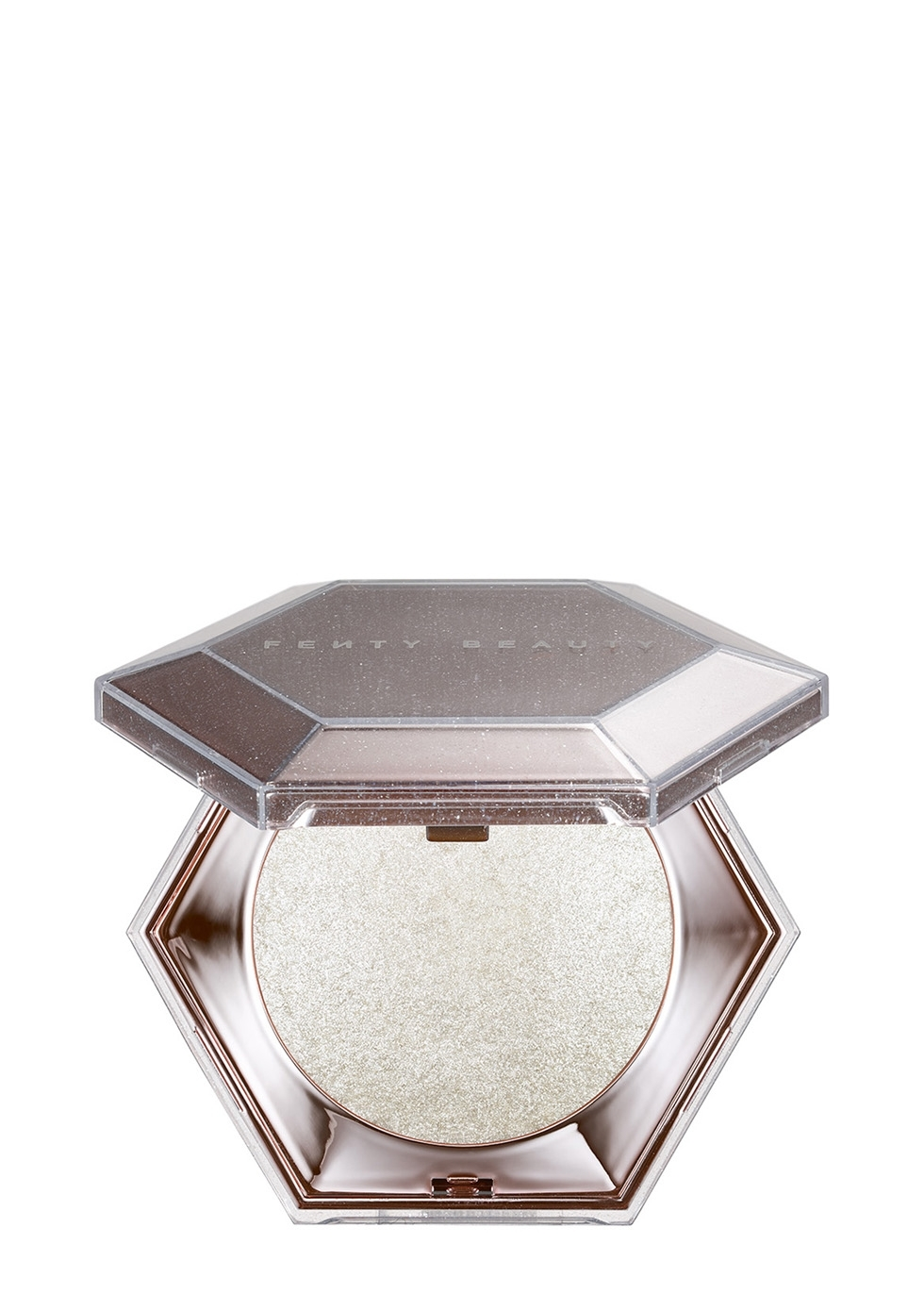 Diamond Bomb All-Over Diamond Veil Highlighter Open Package