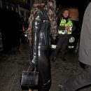 Rihanna steps out in London for Halloween side view October 31, 2018