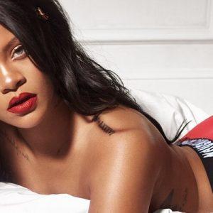 Rihanna goes naughty in new Savage x Fenty Holiday Promo