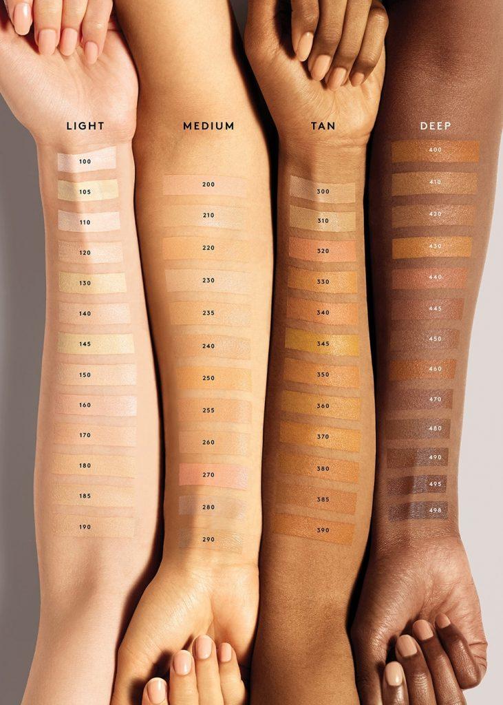 Fenty Beauty Pro Filt'r Concealer all shades on skin