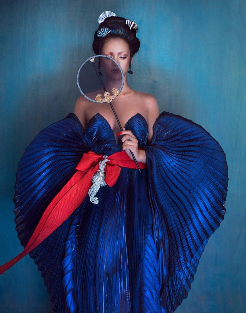 Rihanna for Harper's Bazaar China August 2019