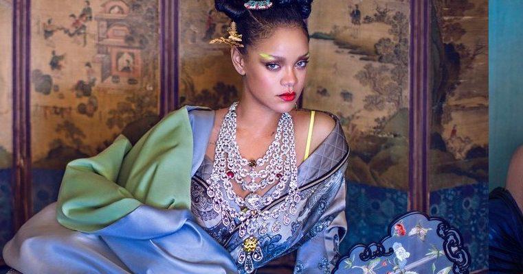 Rihanna covers Harper's Bazaar China