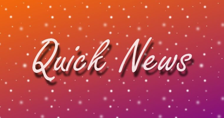 Quick News: October 2019
