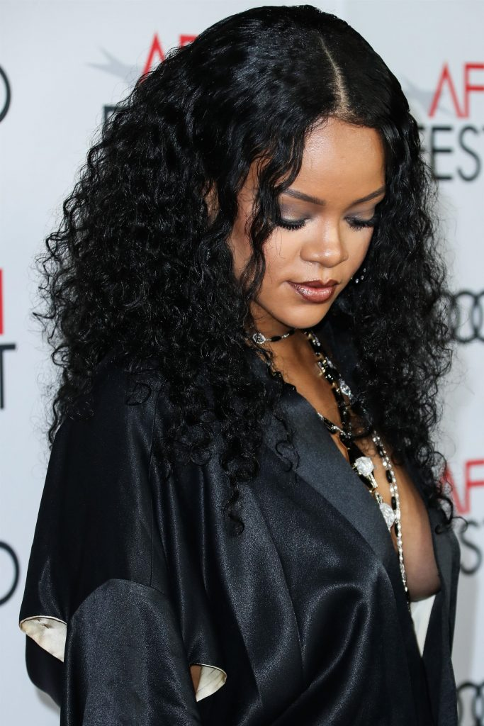 Rihanna attends AFI Fest in Los Angeles