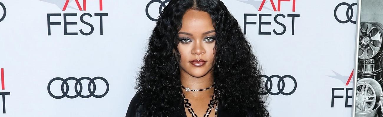 Rihanna attends AFI Fest in Los Angeles