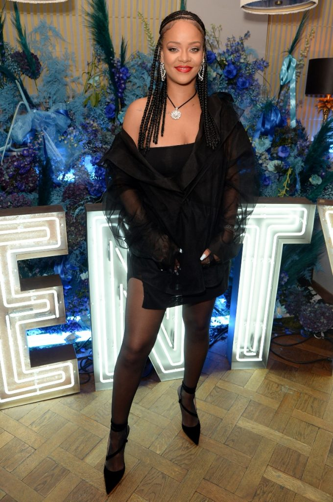 Rihanna at FENTY Fashion Awards 2019 after party