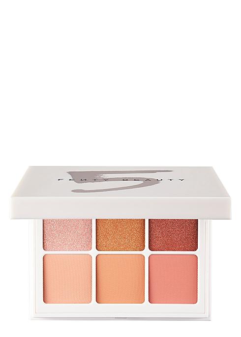 Fenty Beauty Snap Shadows Eyeshadow Palette Peach