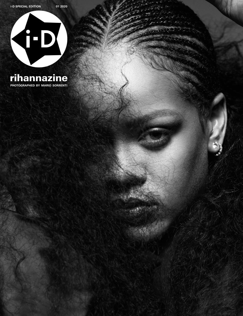Rihanna for i-D Magazine 2020 cover