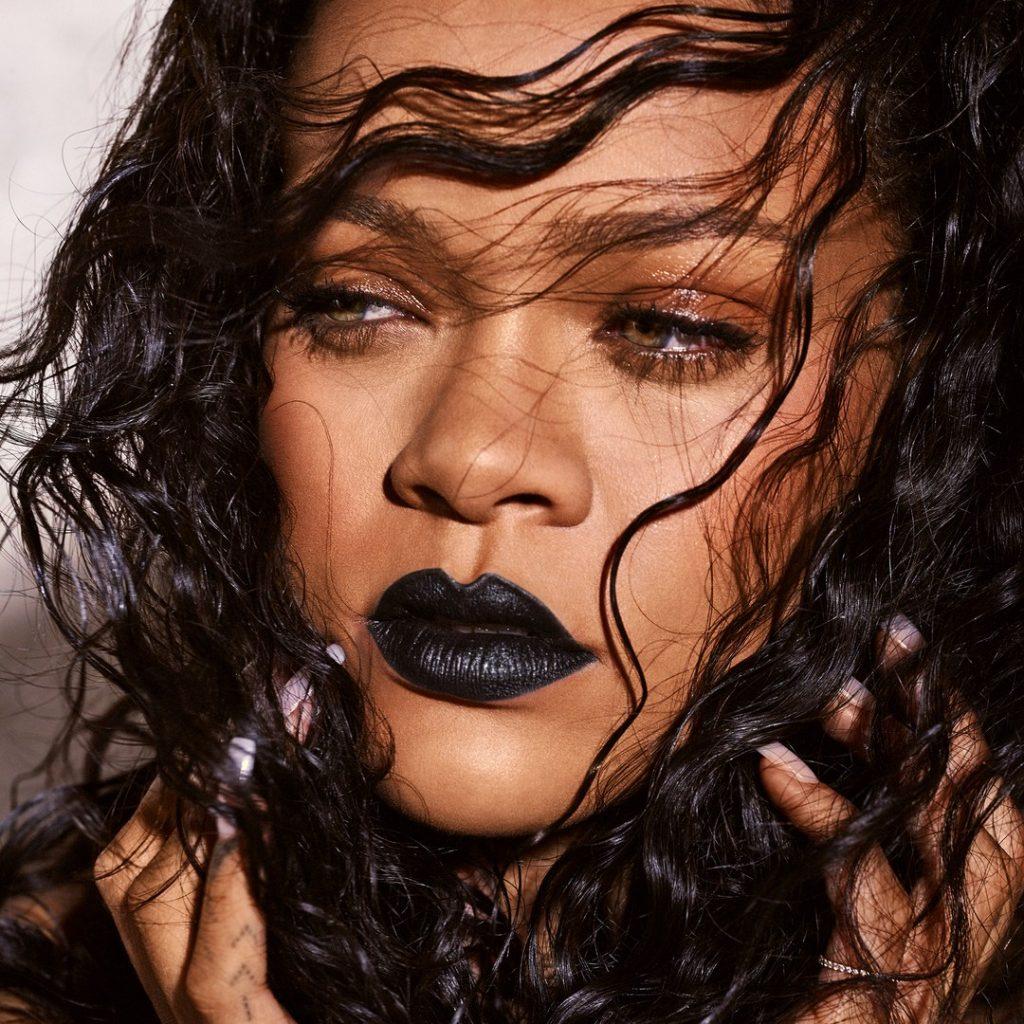 Rihanna Mattemoiselle Lipstick Promo