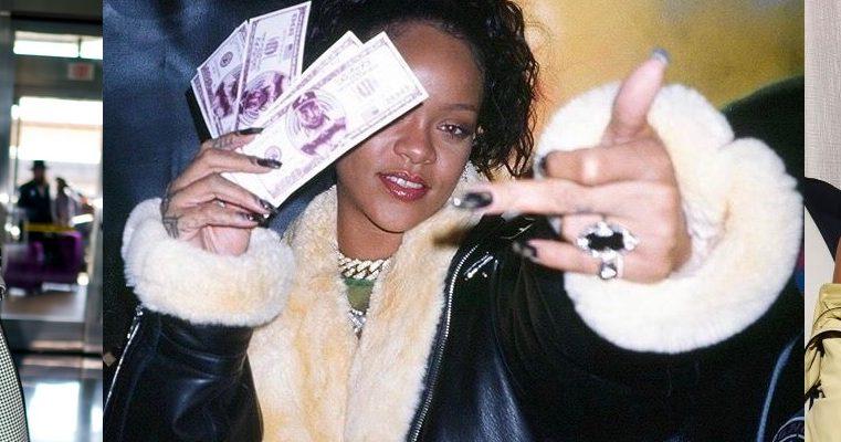 Rihanna's January in photos