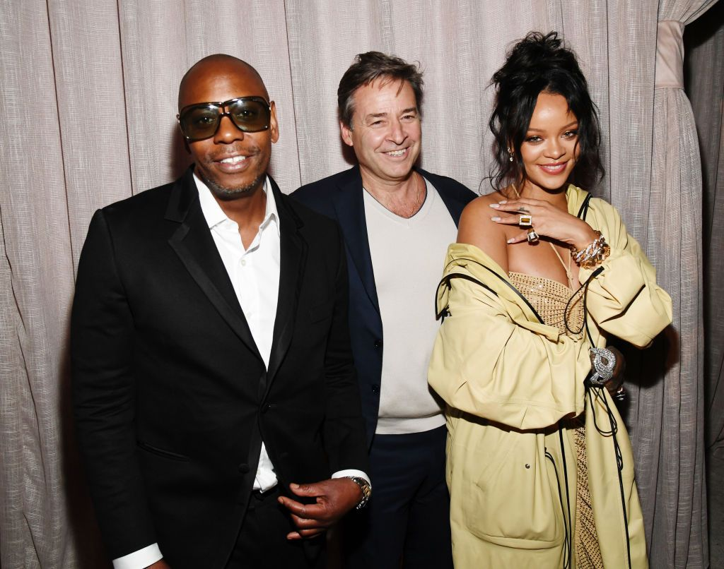 Rihanna at Roc Nation's Pre-Grammy Brunch on January 25, 2020