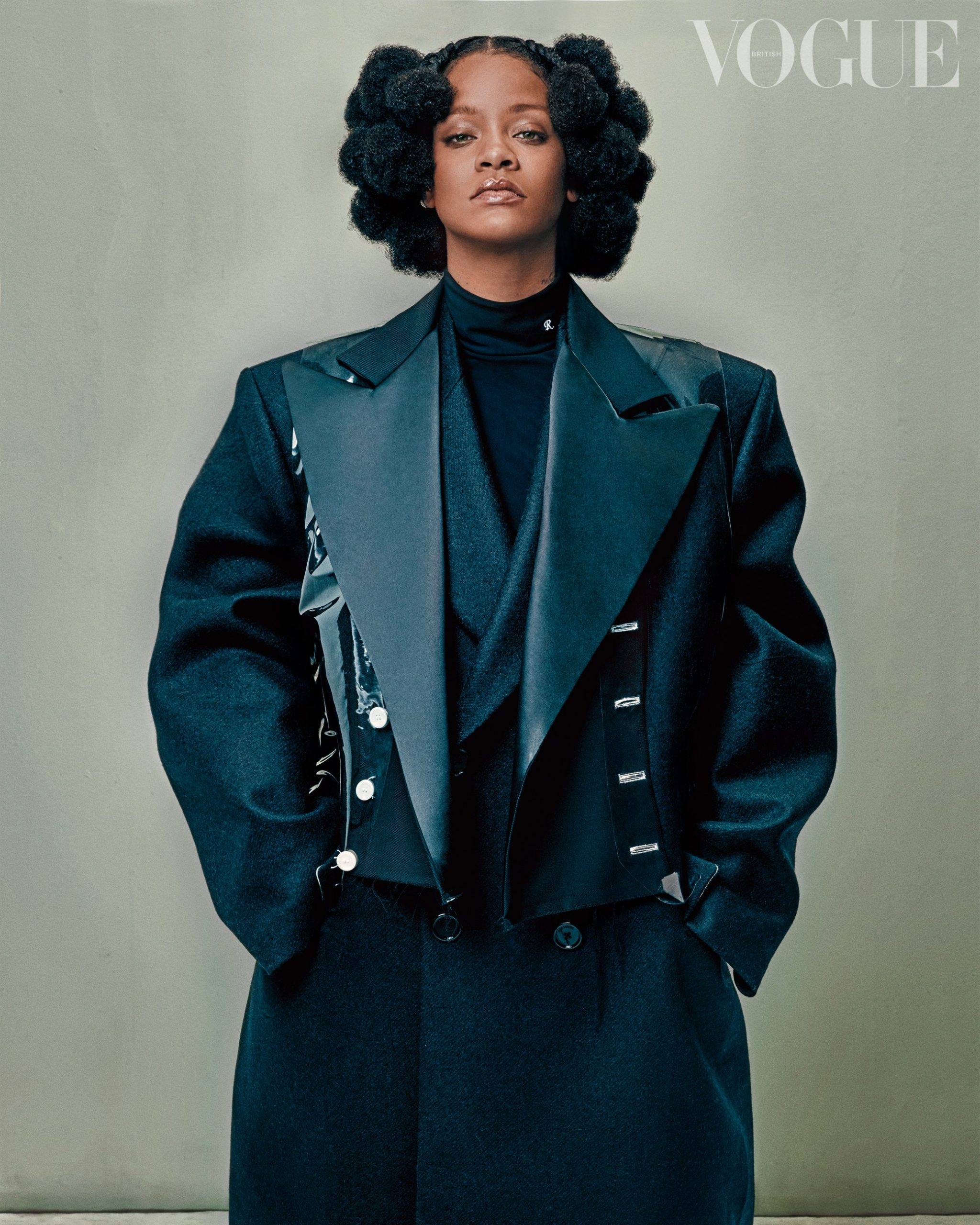 Rihanna covers May 2020 issue of British Vogue by Steven Klein