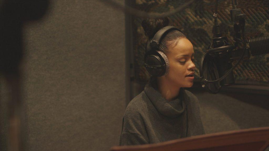 First still from Rihanna's documentary