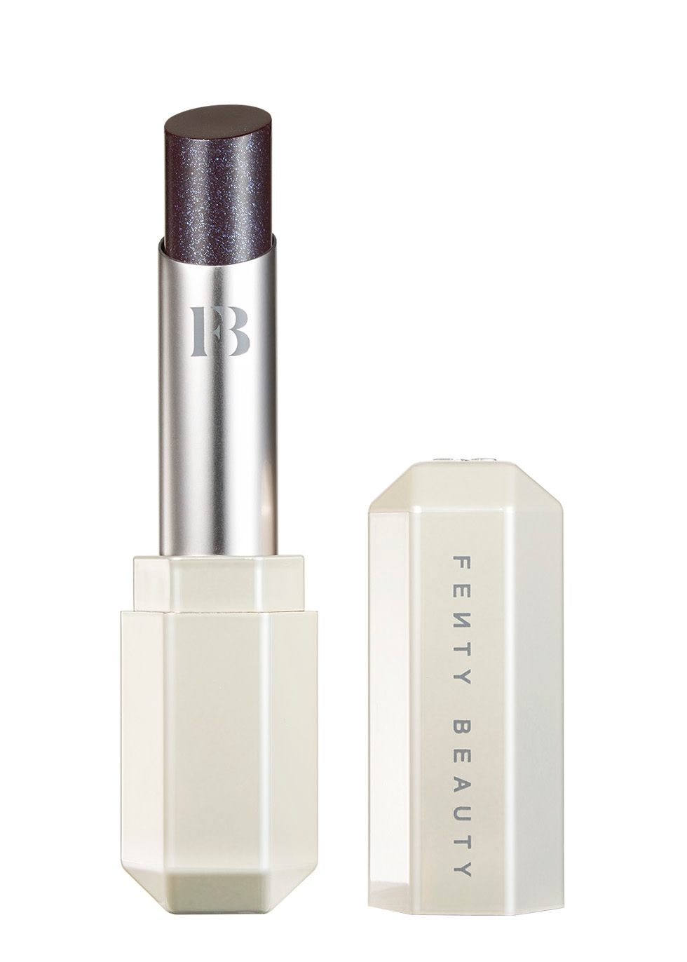 Fenty Beauty Slip Shine Lipstick Vamps who Brunch
