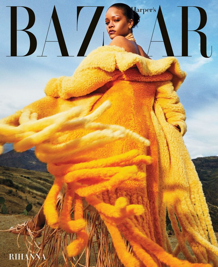 Rihanna covers September issue of Harper's Bazaar