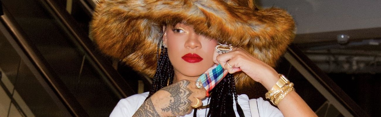 Rihanna's March 2021 in pictures