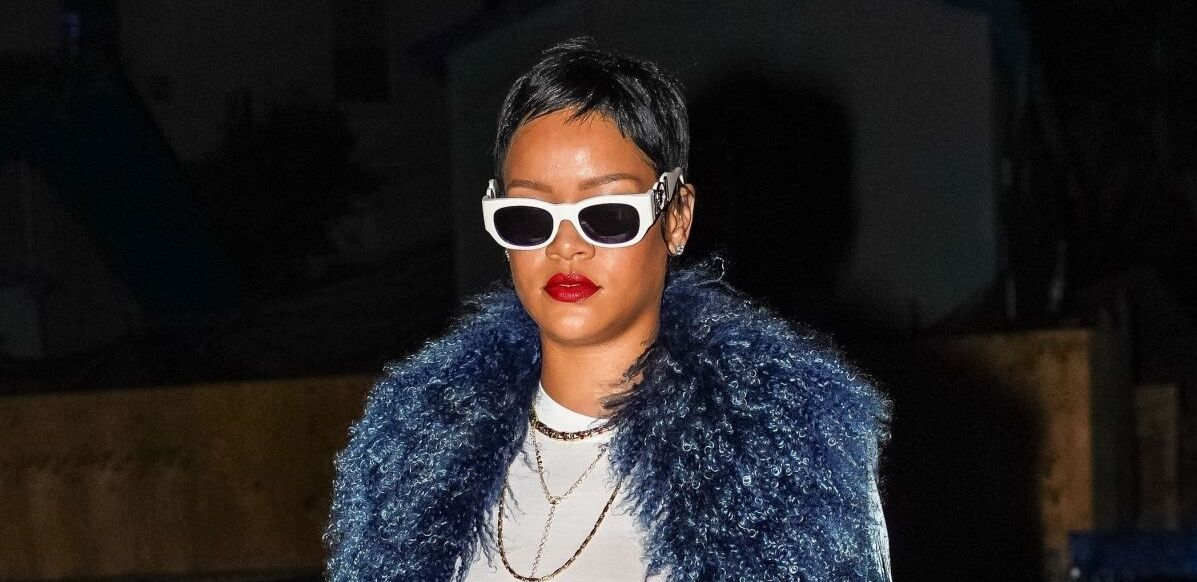 Rihanna is back to pixie cut in Santa Monica on May 5, 2021