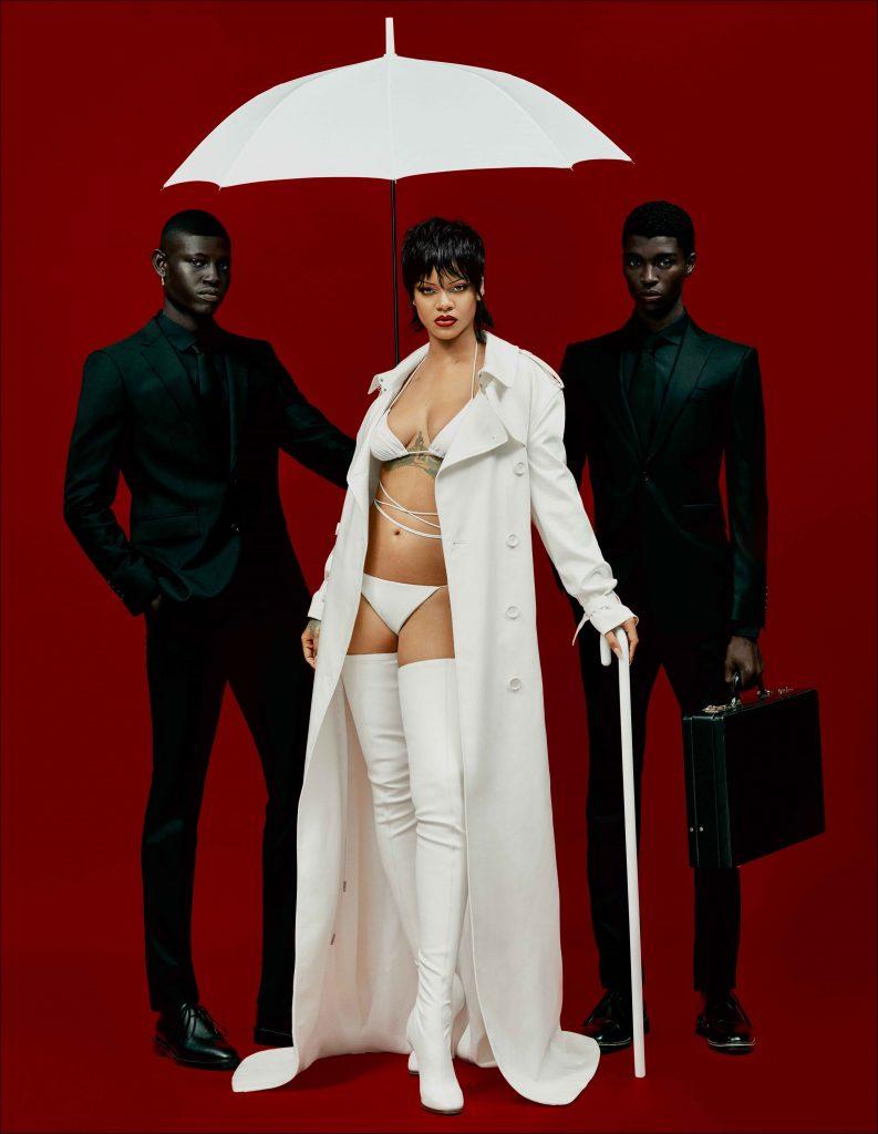 Rihanna covers Dazed Magazine's 30th Anniversary issue photographed by Rafael Pavarotti 2021