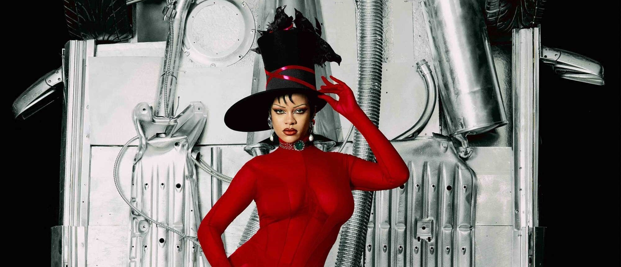 Rihanna for Dazed Autumn 2021